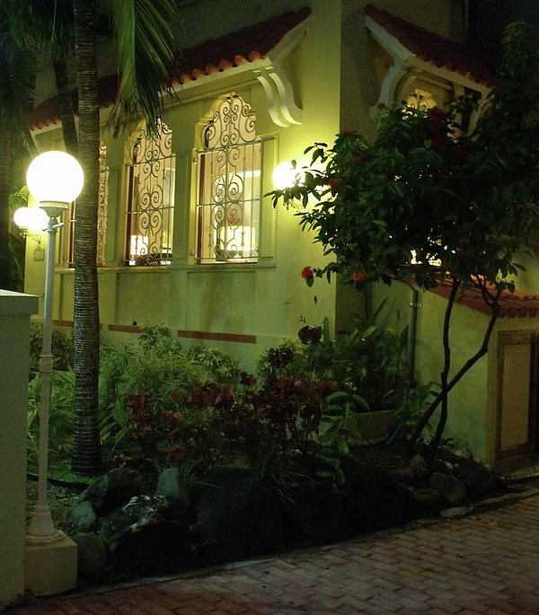 Wrought Iron Photograph - San Juan Night by Anna Villarreal Garbis