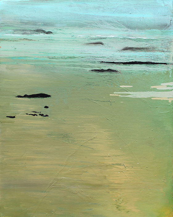 Sand And Sea Painting - Sand And Sea by Ethel Vrana