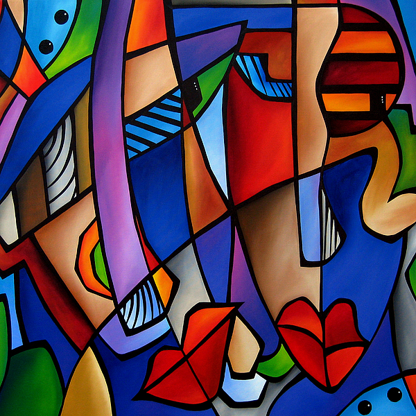 Seeing Sounds - Abstract Pop Art By Fidostudio Painting