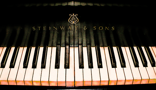 Piano Photograph - Shine by Colleen Kammerer