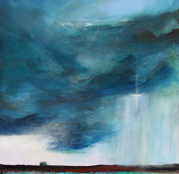 Storm Painting - Sign From Above by Toni Grote