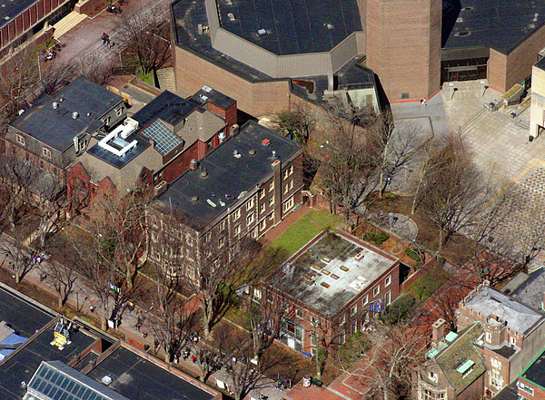 St Anthony Hall And St Elmo Fraternity Houses University Of Pennsylvania Photograph