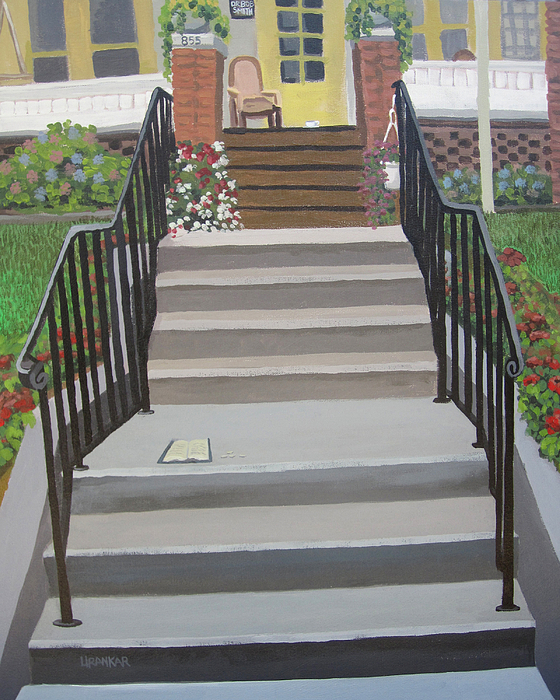 12 Steps Painting - Steps To Recovery by Lisa Urankar