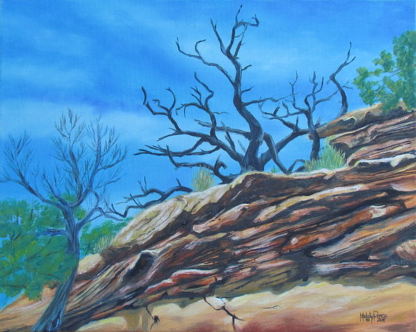 Sticks And Stones Painting