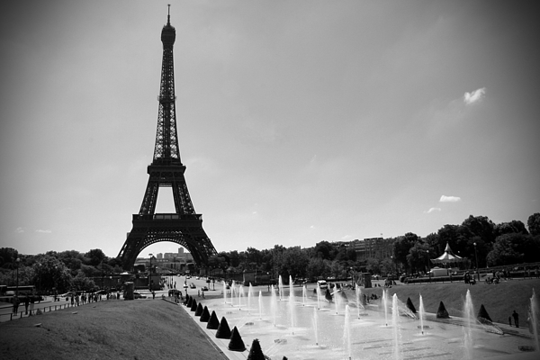 Sunny Day In Paris Photograph - Sunny Day In Paris by Kamil Swiatek