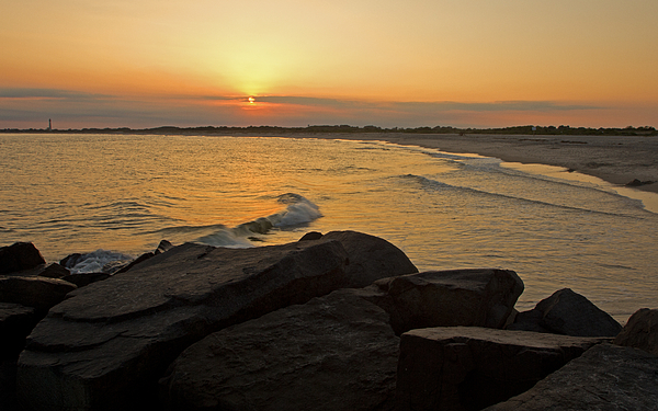 Sunset At Cape May Photograph