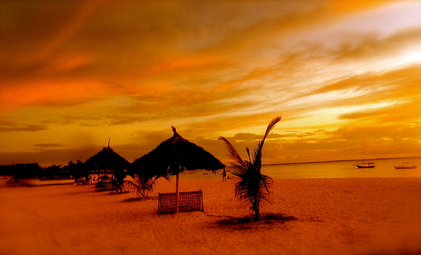 Lanscape Photograph - Sunset In Zanzibar by Joe  Burns