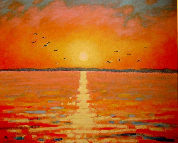 Sunset Print by John  Nolan