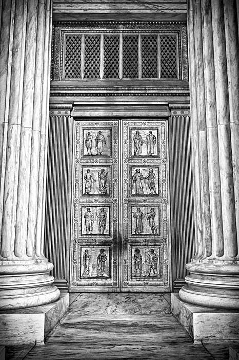 Black Russian Photograph - Supreme Court Building 12 by Val Black Russian Tourchin