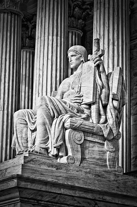 Black Russian Photograph - Supreme Court Building 4 by Val Black Russian Tourchin