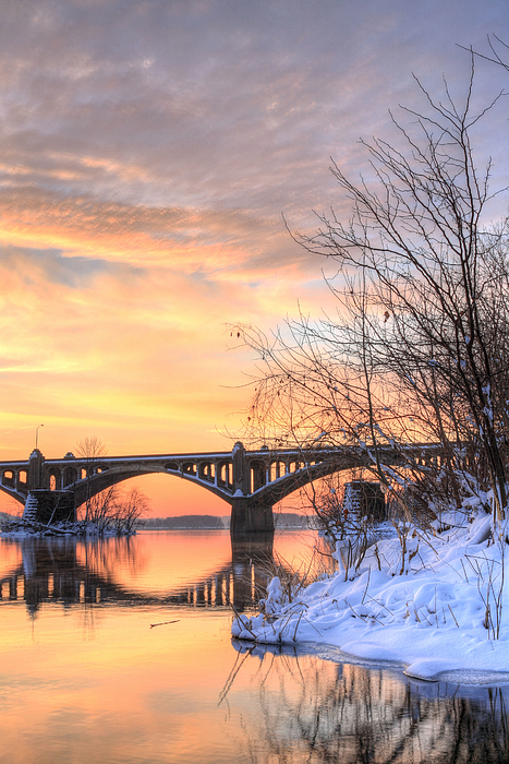 Susquehanna Photograph - Susquehanna Sunrise by JC Findley