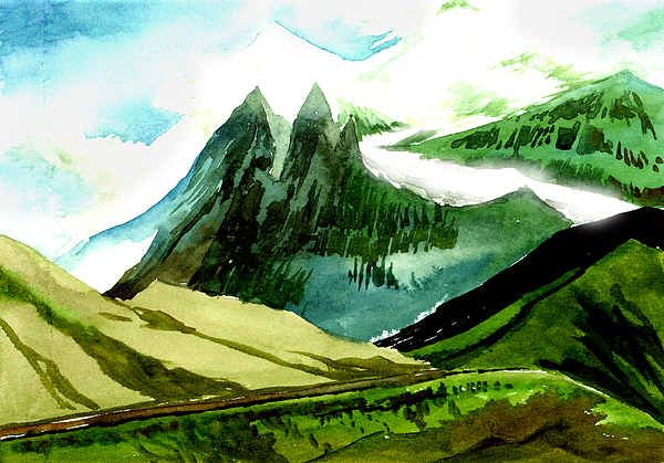 Switzerland Painting