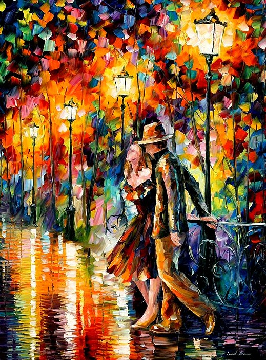 Scenery Painting - Tempter by Leonid Afremov