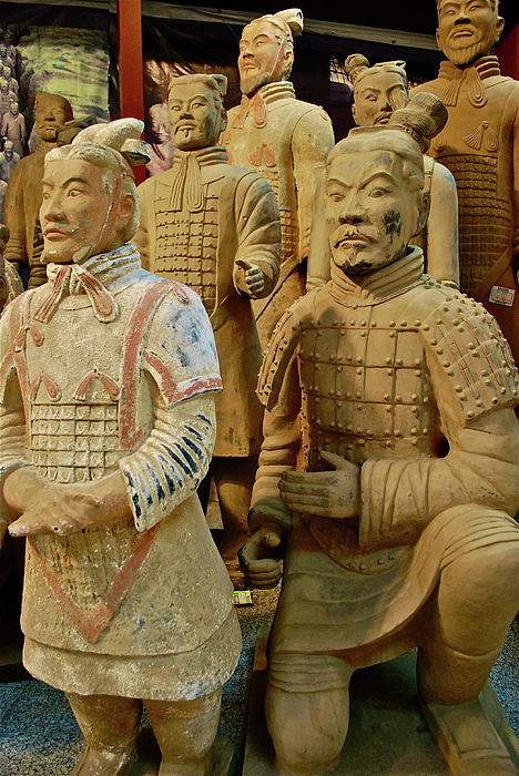 Terracotta Warriors Photograph - Terracotta Warriors by Dorota Nowak