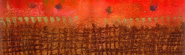 Ences Painting - That Long Brown Fence Dividing You And Me by Angela L Walker
