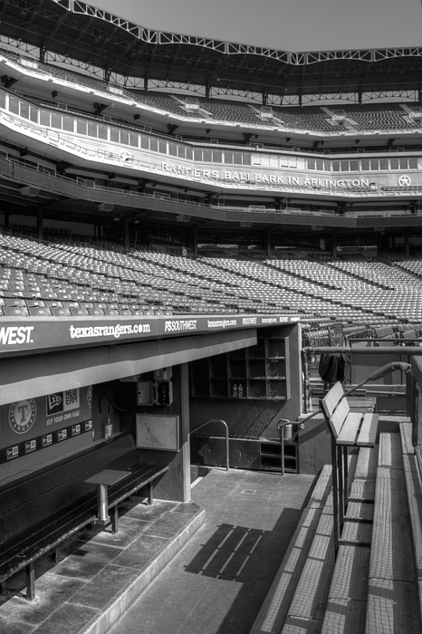 America Photograph - The Ballpark In Arlington by Ricky Barnard