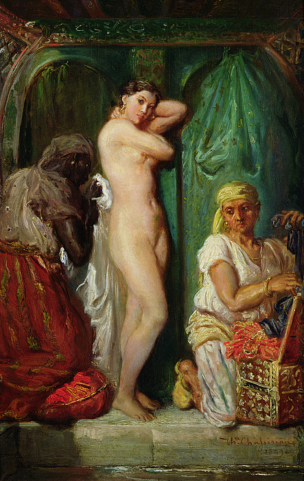 The Bath In The Harem Painting