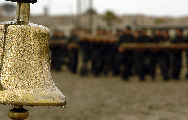 The Bell Is Present On The Beach Photograph