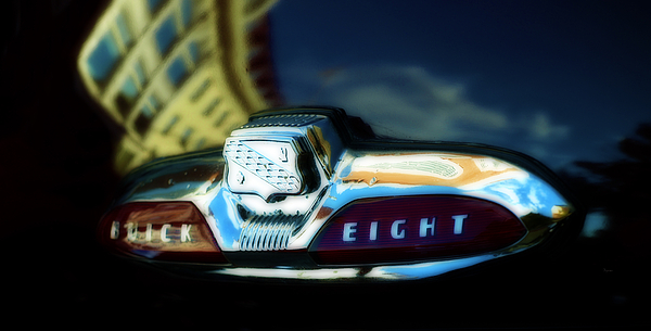 Vintage Cars Photograph - The Buick Eight  by Steven  Digman