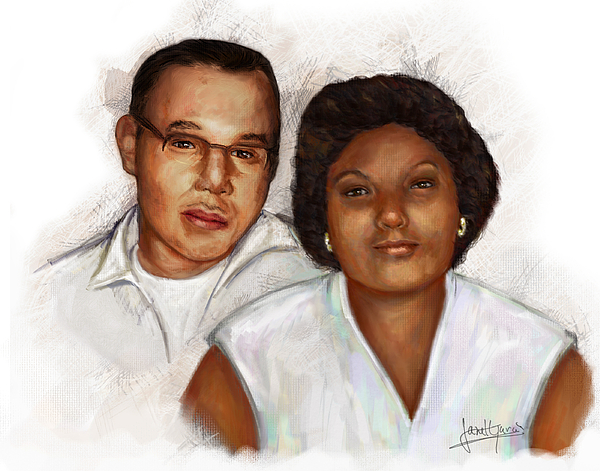 Pastel - The Edwards by Janet Garcia