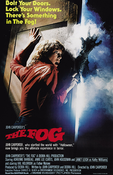 1980 Movies Photograph - The Fog, Jamie Lee Curtis, 1980 by Everett