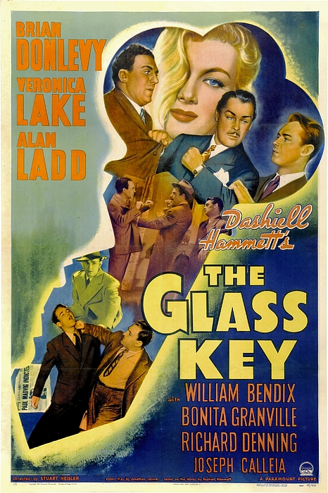 The Glass Key, William Bendix, Veronica Photograph