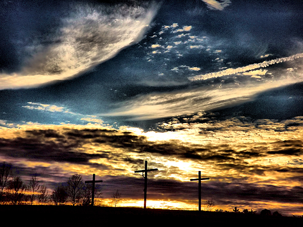 Skyscape Photograph - The Glory by David Walsh
