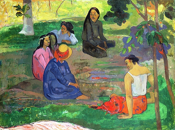 The Gossipers Painting