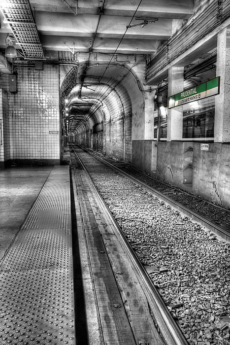 The Green Line Photograph - The Green Line by JC Findley