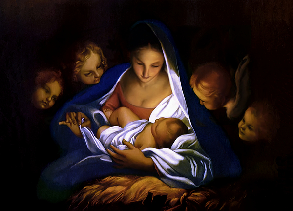 The Holy Night Painting
