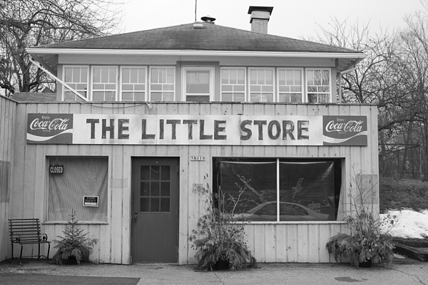 Store Photograph - The Little Store by Lauri Novak