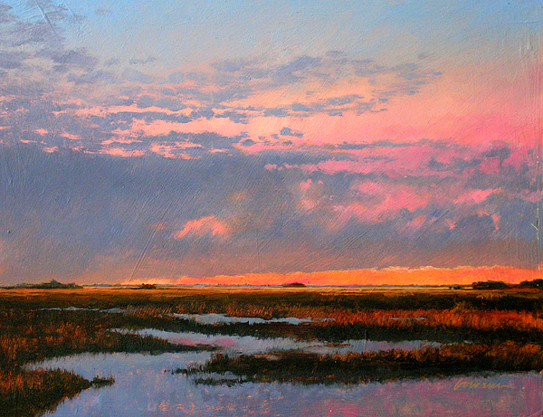 The Marsh  Painting