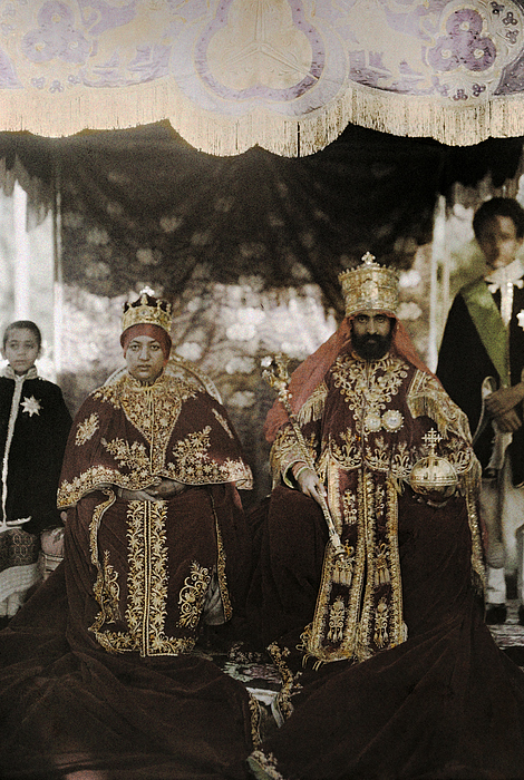 Day Photograph - The Monarchs Haile Selassie The First by W. Robert Moore