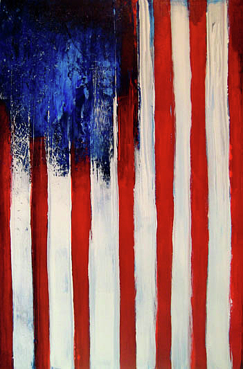 Flag Painting - The Ogden Flag by Charles Jos Biviano