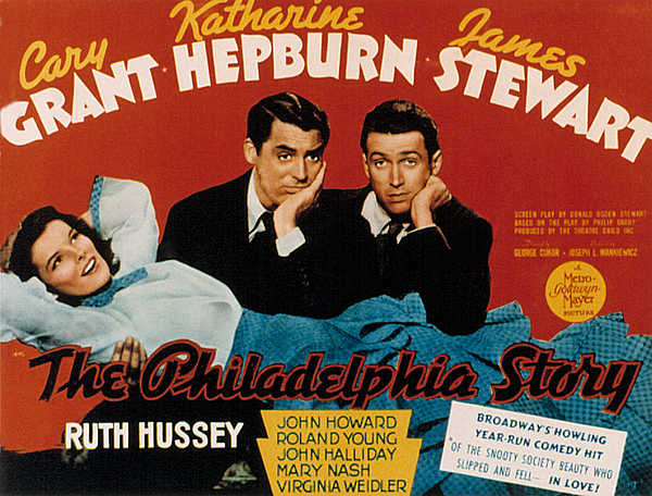 1940 Movies Photograph - The Philadelphia Story, Katharine by Everett