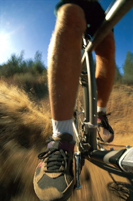 Cycles And Cycling Photograph - The Photographer Captures A Close View by Barry Tessman
