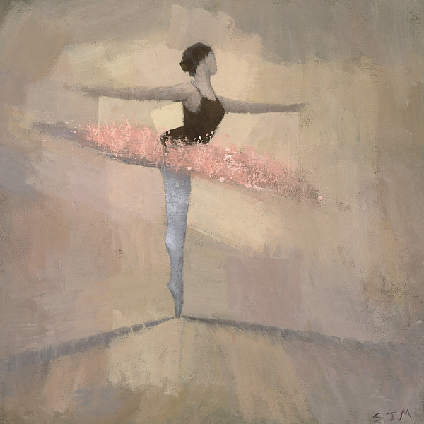 The Pink Tutu Painting