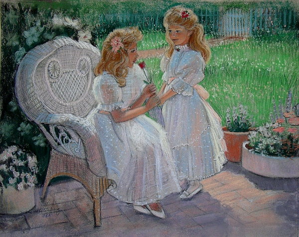 The Sisters Garden Painting