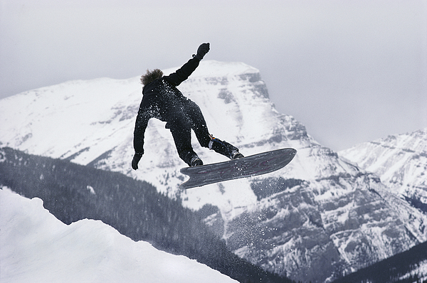 The Snowboard Championships Were Held Photograph