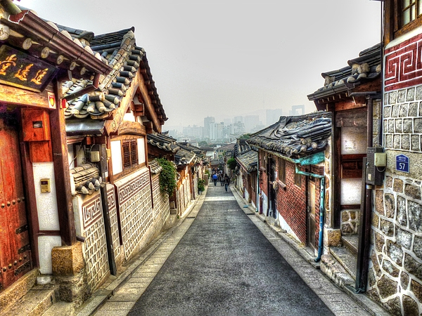 Historic Photograph - The Soul Of Seoul by Michael Garyet