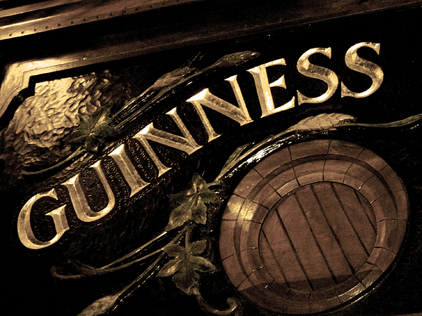 Boston Photograph - Time For A Guinness by Sheryl Burns