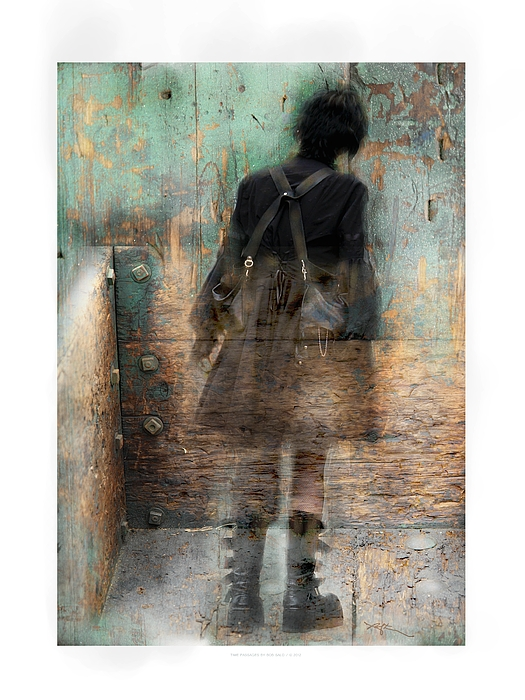 Girl Photograph - Time Passages - Beyond All Barriers by Bob Salo