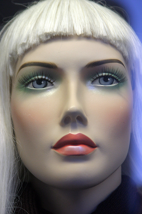 Mannequin Photograph - Tina 2 by Jez C Self