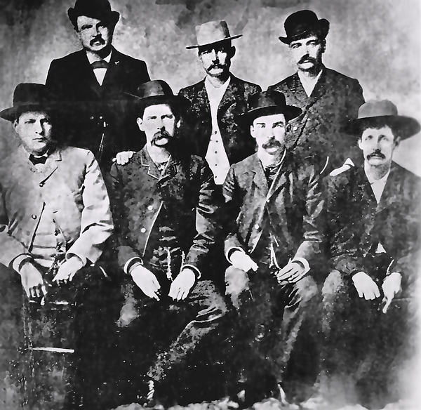 Tough Men Of The Old West Photograph