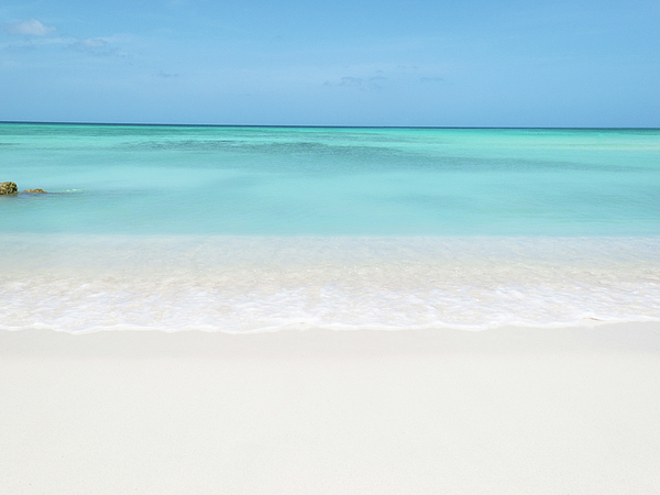 Horizontal Photograph - Tranquil Beach by William Andrew