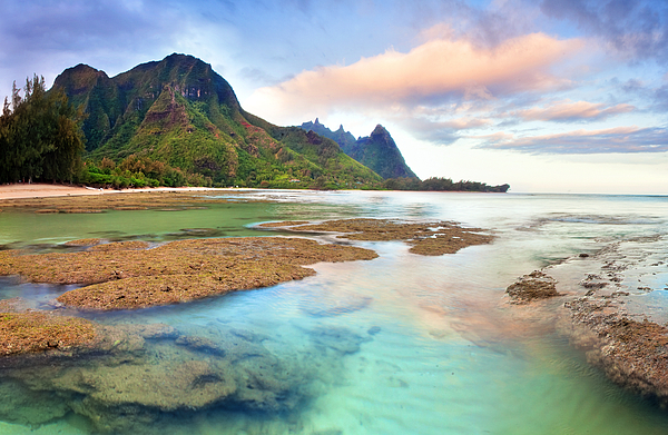 Tranquil Photograph - Tranquil Dawn Hawaii by Monica and Michael Sweet