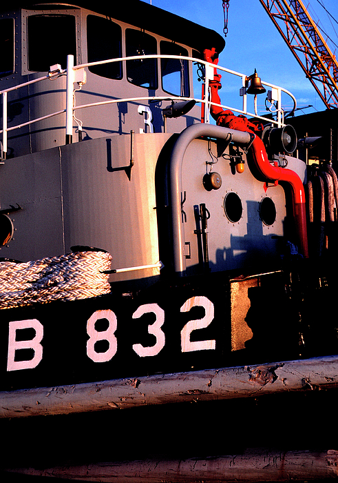 Us Naval Station Mayport Photograph - Tug Boat by Thomas R Fletcher