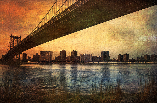 America Photograph - Under The Bridge by Svetlana Sewell