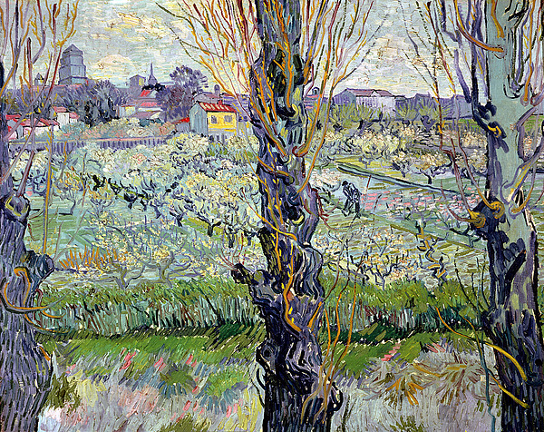 View Of Arles Painting