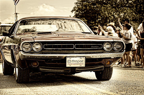 Dodge Photograph - Vintage Dodge Charger by Andre Babiak